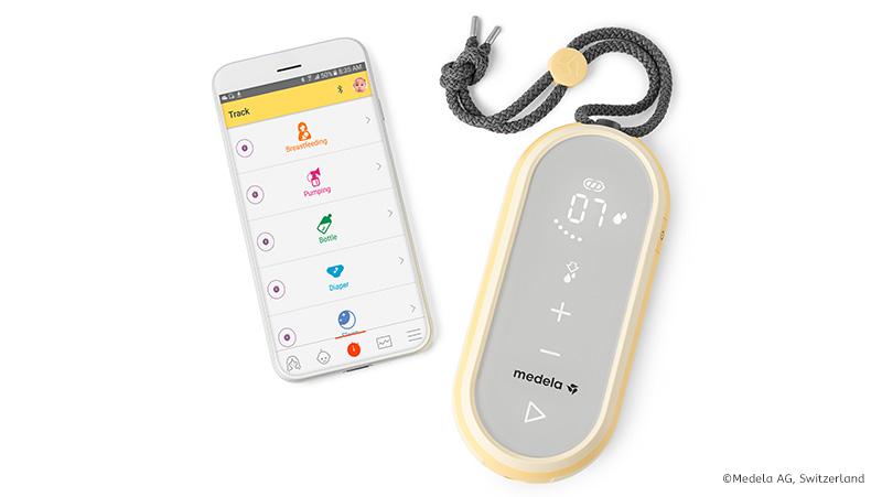 Du kannst deine Freestyle Flex ganz einfach per Bluetooth mit der Medela App verbinden und all deine Abpumpfortschritte übersichtlich tracken.