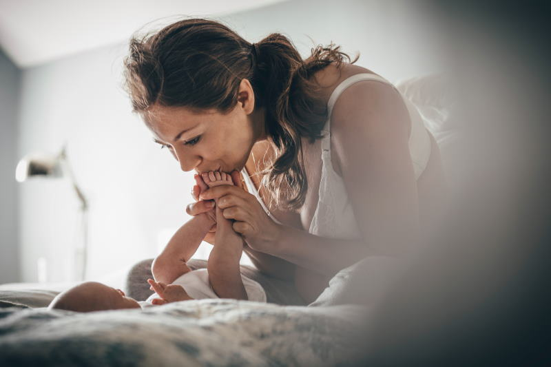 Jenny litt an einer Mastitis. Die Milchpumpe Symphony half ihr dabei, die Symptome des Milchstaus zu lindern und den Heilungsprozess zu beschleunigen.