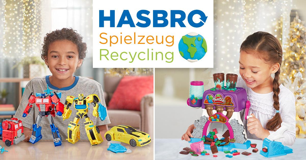 Dank einer Partnerschaft mit TerraCycle führt Hasbro ein Recycling-Programm ein, um euch dabei zu helfen, Spielsachen verantwortungsbewusst einem neuen Verwendungszweck zuzuführen. Bild: Hasbro