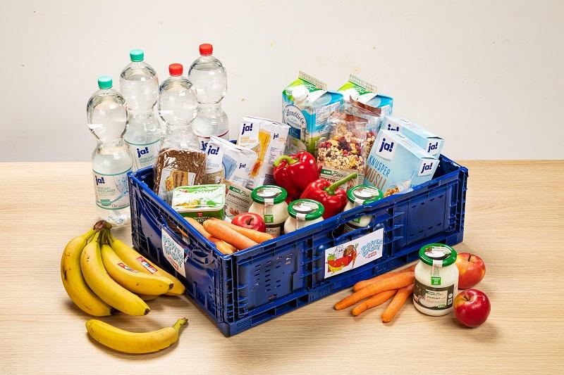 Bereits seit 2009 versorgen REWE und Tafel Deutschland e.V. Schüler mit einem reichhaltigen und gesunden Frühstück! Bild: REWE