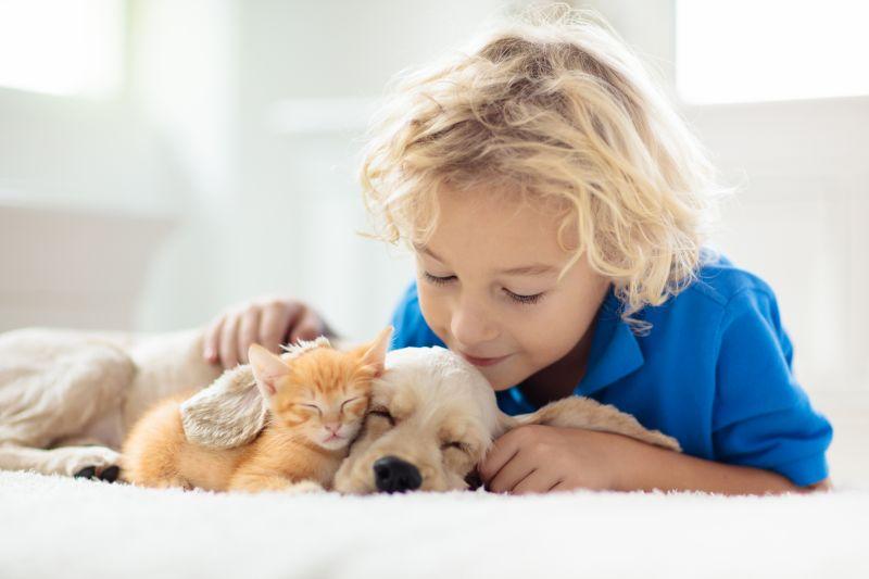 Mit dem entsprechenden Vorwissen der Kinder wird es eine Freundschaft fürs Leben. Bild: Getty Images