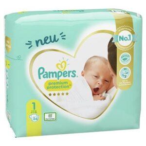 Pampers Premium Protection Windeln - Größe 1: Jetzt bestellen