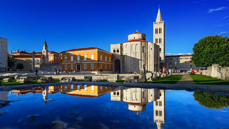 Zadar gleicht einem Museum unter freiem Himmel: Einflüsse aus der Zeit der Römer und dem Mittelalter teilen sich den Platz mit modernen Sehenswürdigkeiten.Foto: Aleksandar Gospić